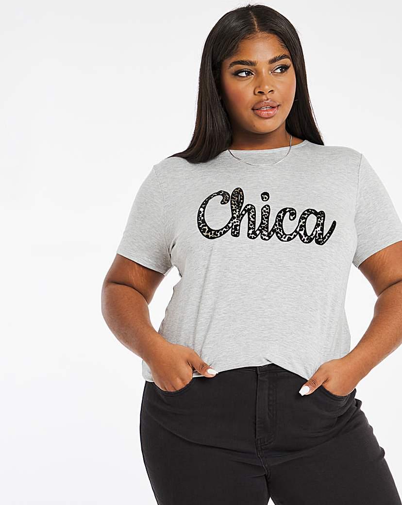 Capsule Chica Slogan T-Shirt