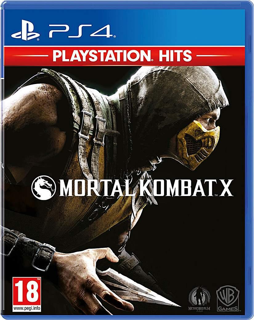 Mortal Kombat X HITS Range PS4
