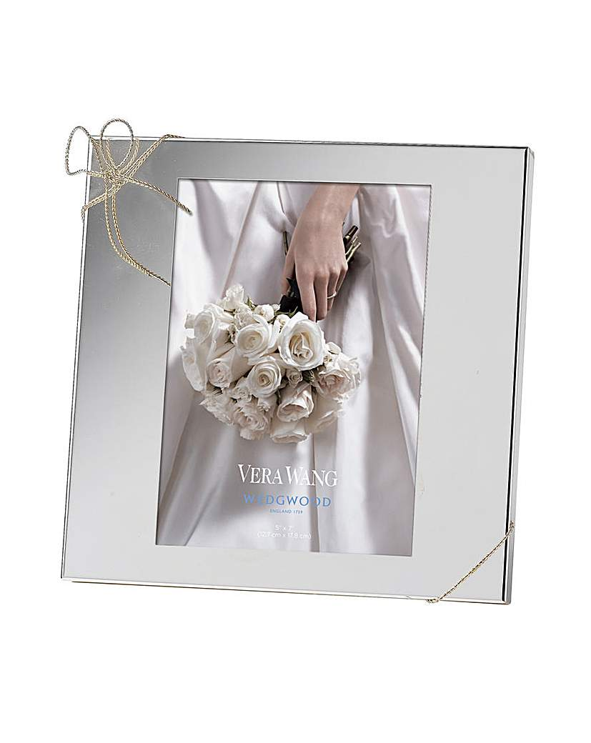 Image of Vera Wang Love Knots Photo Frame 5x7in