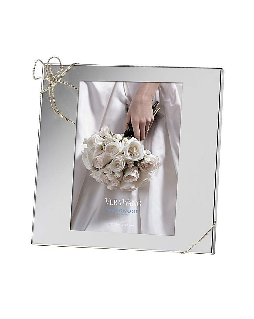 Image of Vera Wang Love Knots Photo Frame 4x6in