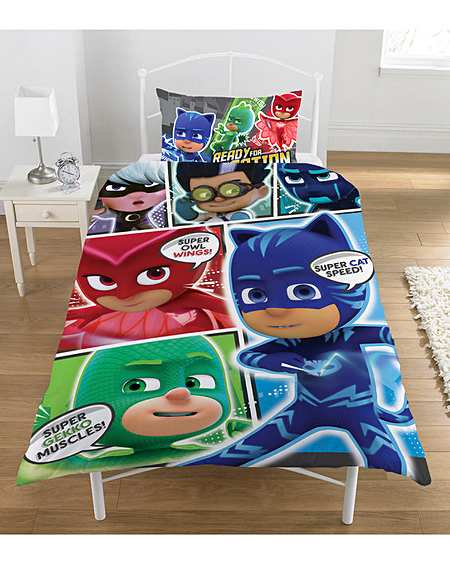 PJ Masks Comic Duvet Cover Set