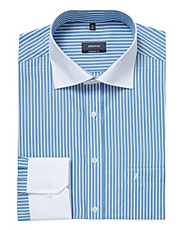 Eterna Mighty Edge Striped Shirt