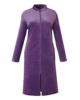 Miliarosa Velour Zip Gown L48