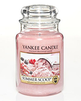 Yankee Candle Summer Scoop Large Jar