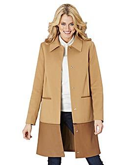 Two in One Zip Off Coat