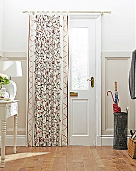 Crewel Work Door Curtain