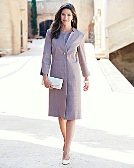 Nightingales Long Dress Jacket L43in