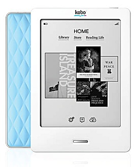 Kobo eReader Touch Edition - Blue