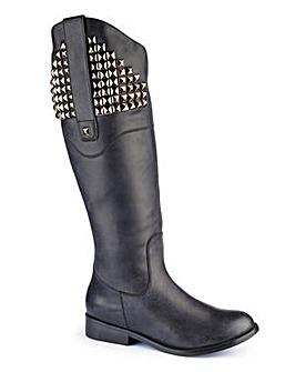 Legroom Hi Leg Boot Curvy Calf EEE