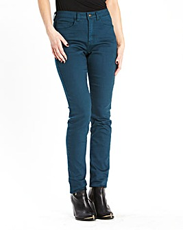 Simply Be Lana Wet Look Jeans Reg