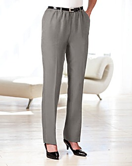 Trousers With Belt Length 27