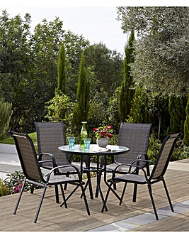 Carolina 5 Piece Garden Furniture Set