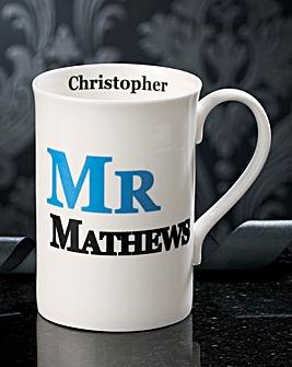 Personalised Mr Mug