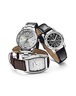 Gents Three Piece Classic Watch Gift Set