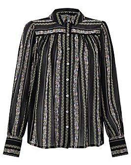 Monsoon Flora Stripe Shirt