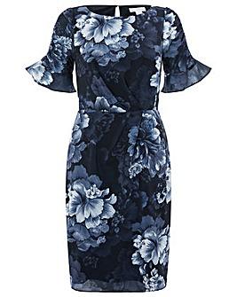 Monsoon Serena Print Dress