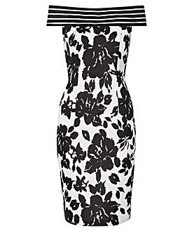 Gina Bacconi Jojo Floral Printed Dress