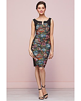Gina Bacconi Fearne Abstract Dress