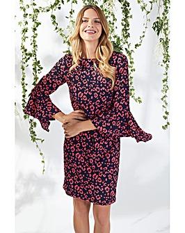 Gina Bacconi Hattie Crepe Dress