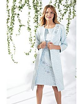 Gina Bacconi Marion Jacquard Coat