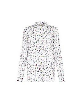 Yumi Curves French Botanical Shirt.