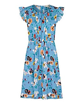 Yumi Curves Ladder Front Day Dress