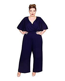 Scarlett & Jo Wrap Lounge Jumpsuit
