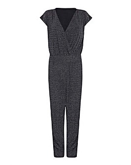 Mela London Curve Wrap Front Jumpsuit