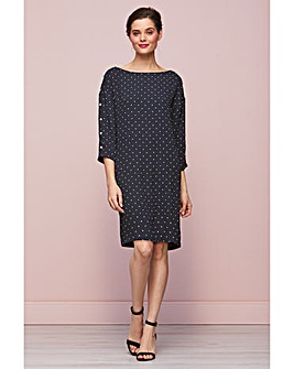 Gina Bacconi Brooke Pinspot Dress