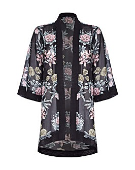 Mela London Curve floral kimono