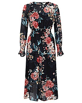 Monsoon Hollie Statement Print Dress