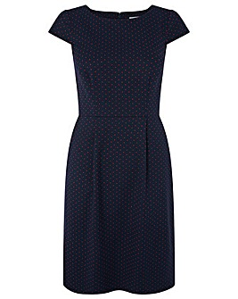Monsoon Cecile Jacquard Dress