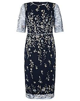Monsoon Gabriella Embellished Lace Dress