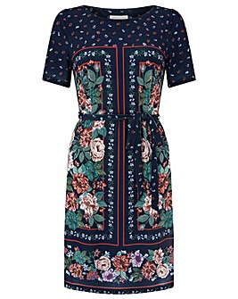 Monsoon Verity Print Tunic Dress