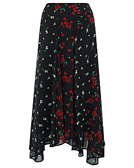 Monsoon Tina Mixed Print Skirt