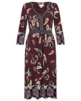 Monsoon Sienna Print Midi Dress