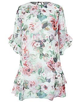 Monsoon Pia Print Dress