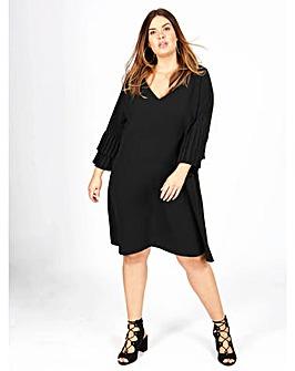 Lovedrobe GB black shift dress