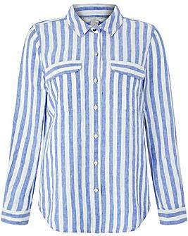 Monsoon Serena Yarn Dye Stripe  Shirt