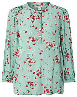 Monsoon Tina Ditsy Print Top