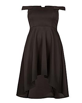 Be Jealous V Neck Off Shoulder Dress