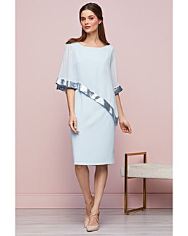 Gina Bacconi Victoria Cape Dress