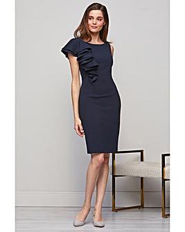 Gina Bacconi Rita Asymmetric Dress