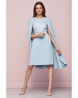Gina Bacconi Jolene Dress With Cape