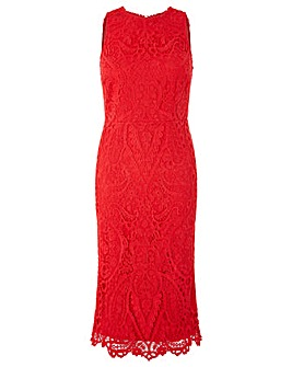 Monsoon Bonnie Lace Shift Dress