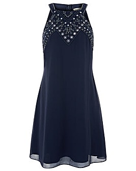 Monsoon Marianne Embellished Short Dress