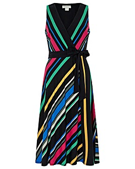 Monsoon Colette Stripe Dress