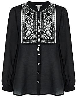 Monsoon Katana Embroidered Blouse
