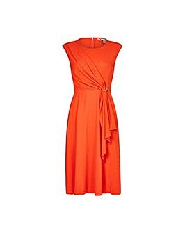 Yumi Curves Soft Drape Eyelet Dress