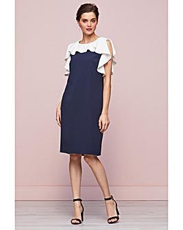 Gina Bacconi Belinda Frill Dress